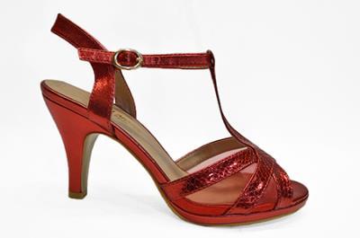Γυναικεία Κόκκινα Πέδιλα 6821 RED c08a73451d6