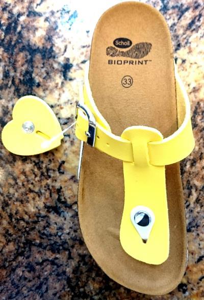 Dr Scholl Dr Scholl Boa Vista Kids Yellow 1pair - Ανατομικές Παιδικές  Παντόφλες a224df309f4
