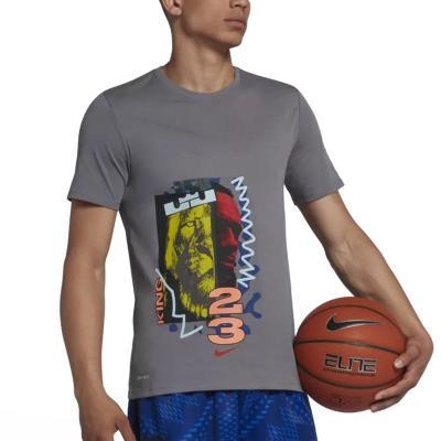 new style 9d8d7 b6dd4 Nike Lebron NBA Dri-Fit T-shirt 923703-036 - DARK GREY BLACK