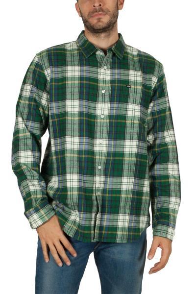 6c804f16558d Obey Aiden φανέλα πουκάμισο καρό πράσινο - 181200207