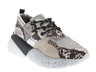 Tsakiris Mallas Γυναικείο Sneaker 824-OPRAH-6-1 BEIGE SNAKE cda272dca2e