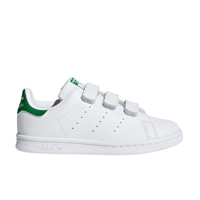 12f3ac61e7d ADIDAS STAN SMITH CF C SHOES FTWWHT/FTWWHT/GREEN