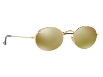 Γυαλιά ηλίου Ray-Ban Oval Metal RB 3547N 001 93 Χρυσό Χρυσός Καθρέφτης  (001 93) ef078a8de50