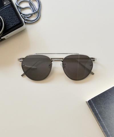 Γυναικεία γυαλιά ηλίου οβάλ καθρέπτης ασημί Premium S7079 417ca87228e
