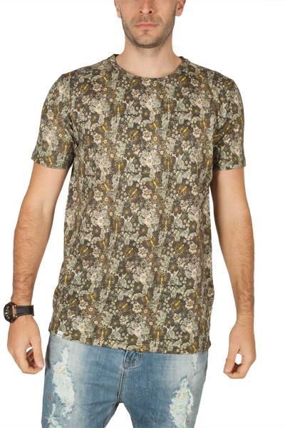 Anerkjendt Ralf ανδρικό t-shirt χακί εμπριμέ - 9218321 47b00f5216b