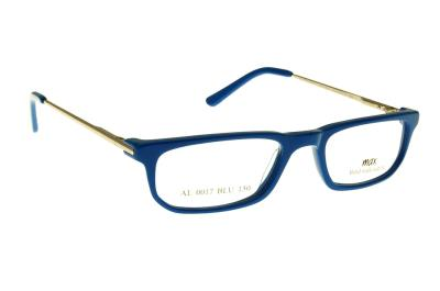 34962ae861 Eyeglasses All4optics Collection Max AL0017 BLU Women Blue Square Near  Vision