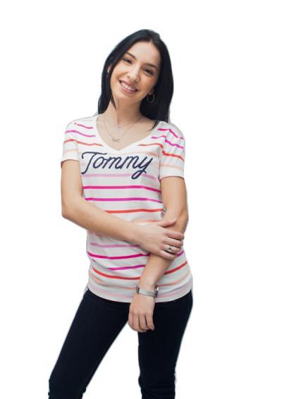 a18788be31f1 γυναικεία μπλούζα μακο κοντομανικα tommy - Totos.gr