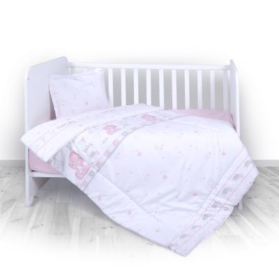 Lorelli Σετ Προίκας Μωρού Για Κούνια 3 Τμχ. My Baby Pink 20800013001 4a862025954