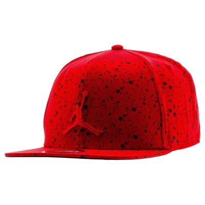d8197cee12 Nike JORDAN SPECKLE PRINT SNAPBACK 821830-687 - GYM RED BLACK