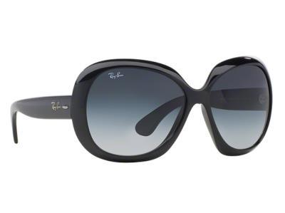f7eae851f2 Γυαλιά ηλίου Ray-Ban Jackie Ohh II RB 4098 601 8G Μαύρο Γκρι Ντεγκραντέ  (601 8G)