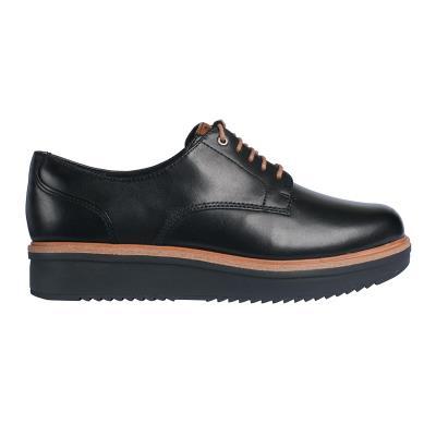 Clarks oxford teadale rhea black leather 26128439 a8a7b7f109b