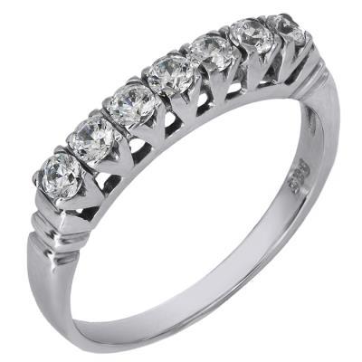 Λευκόχρυσο Δαχτυλίδι Κ14 000305 000305 Χρυσός 14 Καράτια 7a4fa970540