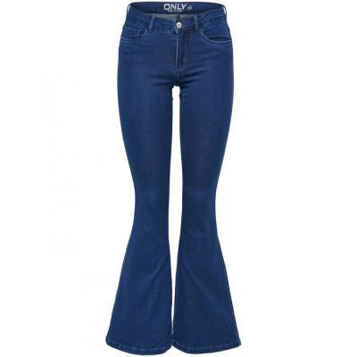 ONLY γυναικείο jean παντελόνι - μπλε 15108550 e6536b60b2f