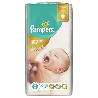 Pampers Premium Care No2 (Mini) 3-6 Κg 50 Πάνες c001d7afdee