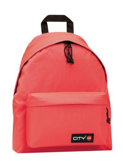 8215e550e7b Σχολική τσάντα πλάτης CITY 41x30x15 πορτοκαλί 10717