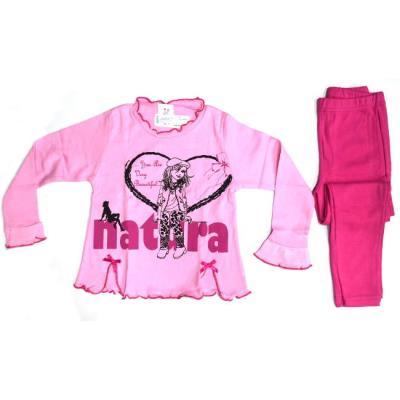 09a1c22a93b Πυτζάμα παιδική κορίτσι Natura βαμβακερή κορίτσι