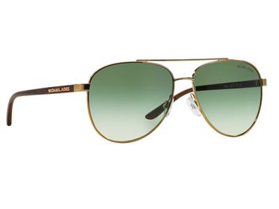 9707f5cb3f Γυαλιά ηλίου Michael Kors MK 5007 Hvar 1043 2L Χρυσό Ξύλο Πράσινος  Ντεγκραντέ (1