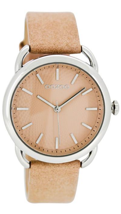 Ρολόι OOZOO Timepieces με ρόζ λουράκι και καντράν C7911 0ea26349636