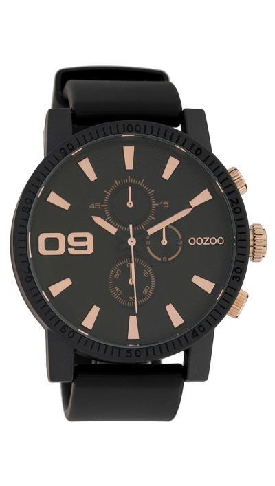 Ρολόι OOZOO Timepieces με μαύρο λουράκι C9276 585a4ad9c3d