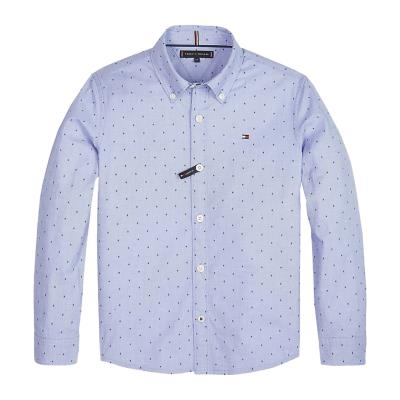 Tommy Hilfiger Kid s Dot Print Button-Down Shirt - Παιδικό Πουκάμισο  KB0KB04761- e12f76cc235