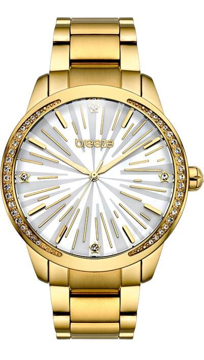 Ρολόι BREEZE Glamworks Series με χρυσό μπρασελέ 210981.2 246f9eb4f60