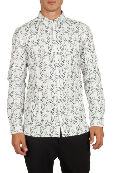 b1c0c3f6fb96 Anerkjendt Dexter ανδρικό πουκάμισο λευκό - 9417007