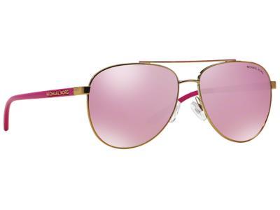 Γυαλιά ηλίου Michael Kors MK 5007 Hvar 10397V Ροζ Χρυσό Φούξια Ασημί  Καθρέφτης ( b717caec843