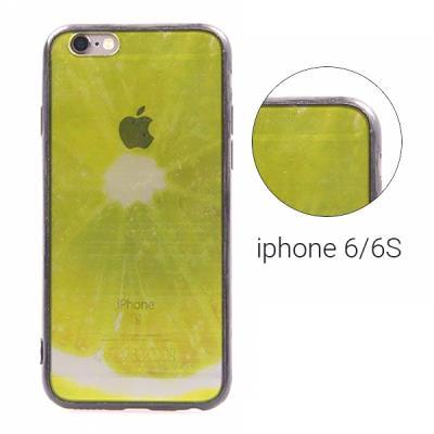 Backcase θήκη με διαφάνεια σε πράσινη απόχρωση και μαύρο περίγραμμα για  iPhone 6 2d55a7daecb