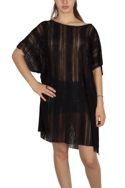 f24846133d67 Lotus Eaters Rosario διάφανο τουνίκ φόρεμα μαύρο - le-8819