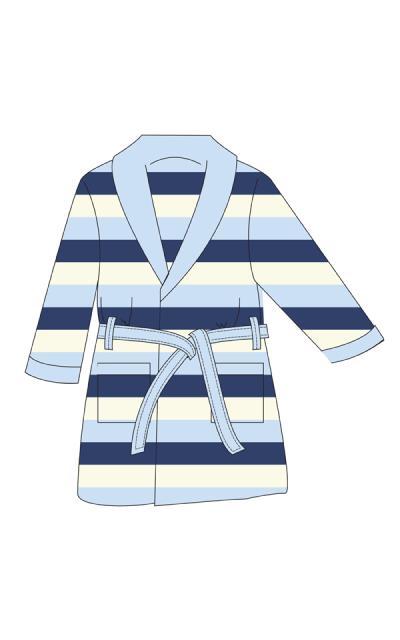 Παιδική ρόμπα Minerva fleece (60959) Σιελ-Μπλε 5206821529798 166339fb674