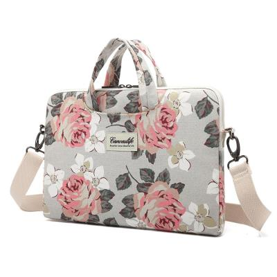 ec33dd3d8b Canvaslife Briefcase Θήκη Τσάντα White Rose (MacBook Air   Pro 13)