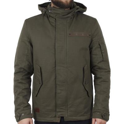 Ανδρικό Μακρύ Μπουφάν Parka Jacket με Κουκούλα ICE TECH A500-17 Πράσινο 10d3477ff06