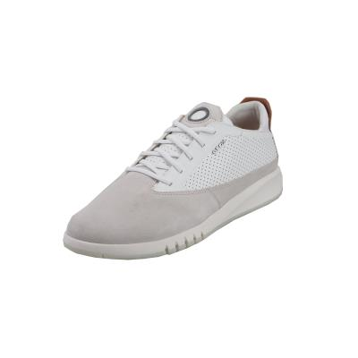 a727a046f69 Ανδρικά Δερμάτινα Sneakers Geox U927FA 02243 C1S1Z Aerantis suede smooth  leather