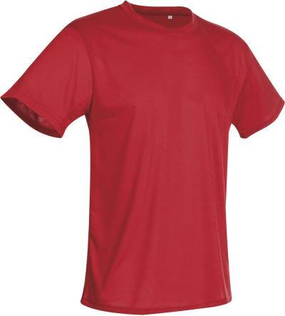 80adffb4b700 Αθλητικό T-Shirt Cotton Touch Stedman ST8600 - Crimson Red