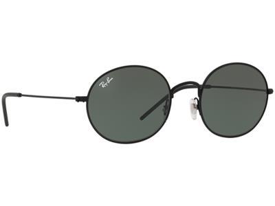 Γυαλιά ηλίου Ray-Ban Oval Metal RB 3594 9014 71 Μαύρο Πράσινο (9014 71)  Πολυκαρβ c798f241d09