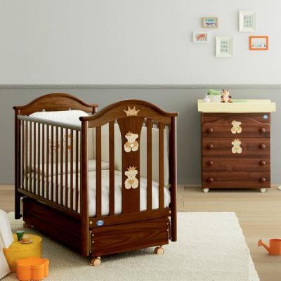 4cd4387480a Βρεφικό κρεβάτι-κούνια Pali Caprice Royal χρώμα καρυδί & δώρο το στρώμα  Cocolate