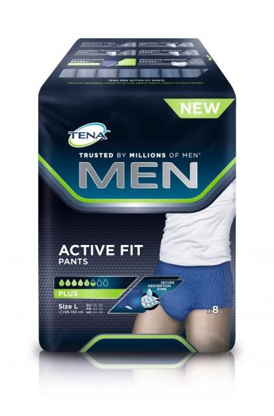 Tena Men Active Fit Pants Large Ανδρικά Προστατευτικά Εσώρουχα Ακράτειας  Μέγεθος 507e6e966e3