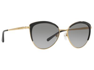 debe1e7a29 Γυαλιά ηλίου Michael Kors Key Biscayne MK 1046 1100 11 Χρυσό Σκούρο Γκρι  Ντεγκρα