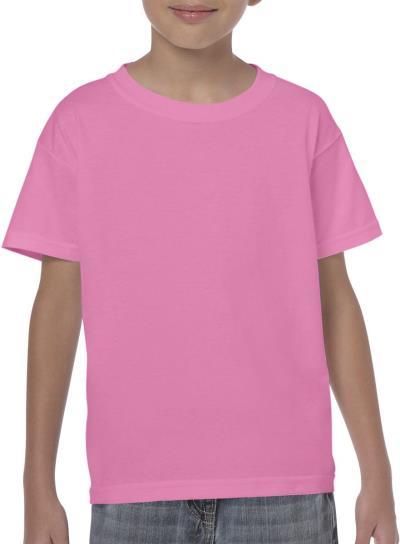 Παιδικό Heavy Youth T-Shirt Gildan 5000B - Azalea 4016ee2930e