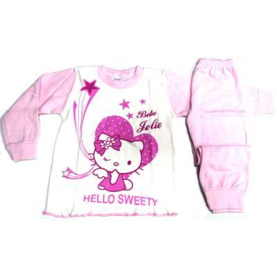 Πυτζάμα Be-Be κορίτσι Hello Kitty βαμβακερή κορίτσι 923e7ba330b