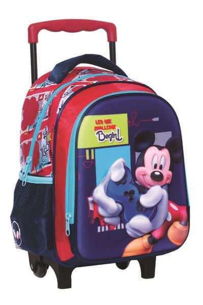 e60a8df510 Τσάντα Trolley Νηπιαγωγείου Mickey Mouse 340-72072