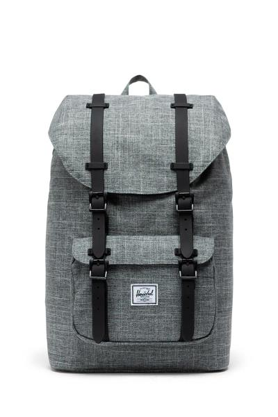 4af41c2541d Herschel Supply Co. Little America mid volume backpack raven  crosshatch/black -