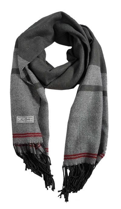 64e041db7bf Pepe Jeans - PM110400-971 - New Tibes Scarf - Granite - Κασκόλ - gray