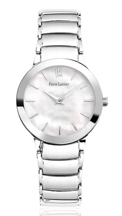 Ρολόι Pierre Lannier με ασημί μπρασελέ 093K691 db606d5c15f