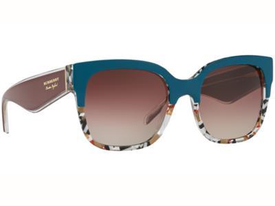 b97fed71e3 Γυαλιά ηλίου Burberry BE 4271 3731 E2 Πράσινο Πολύχρωμο Βιολετί Καφέ  Ντεγκραντέ