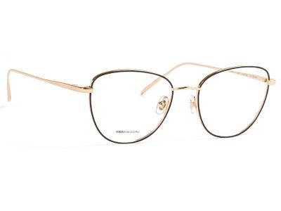 ccde7e32cf Γυαλιά οράσεως GiGi Barcelona 6333 1 Davis Μαύρο Χρυσό (1)