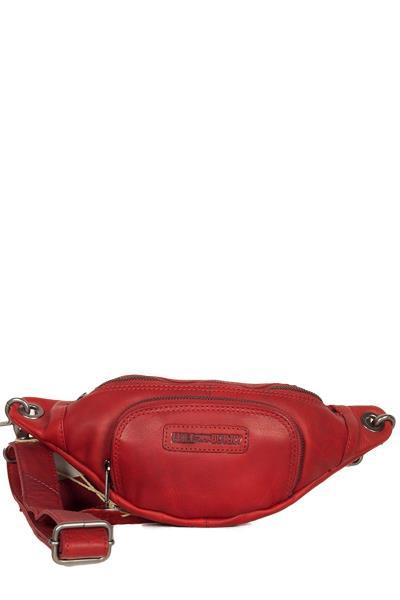 95ebd753f0 Hill Burry δερμάτινο τσαντάκι μέσης κόκκινο - vb100135-3314-rd