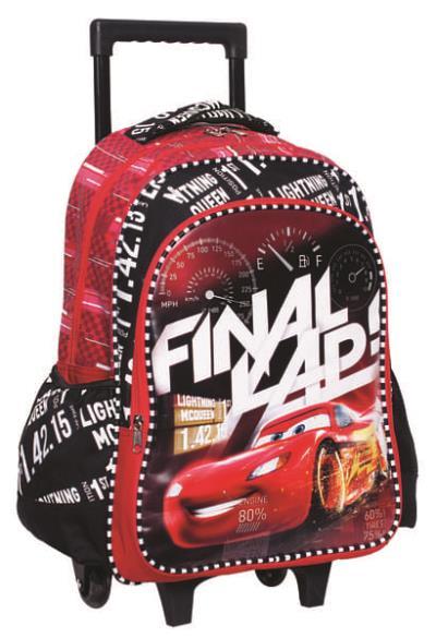 3c1f9f7c18e Σχολική Τσάντα Trolley Cars Time 341-56074