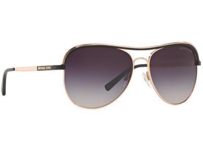bf5780a8ec Γυαλιά ηλίου Michael Kors Vivianna I MK 1012 1108 36 Ροζ Χρυσό Μαύρο Γκρι  Ροζ Ντ