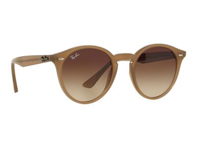 041a1c0ee2 Γυαλιά ηλίου Ray-Ban Round RB 2180 6166 13 Μπεζ Καφέ Καφέ Ντεγκραντέ (6166  13)